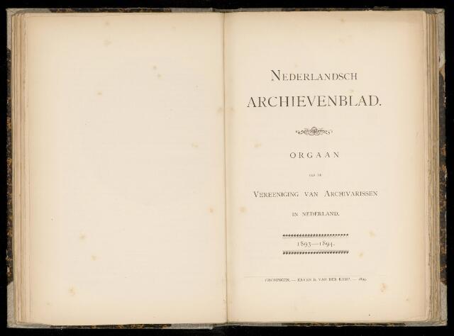 Nederlandsch Archievenblad 1893-09-01