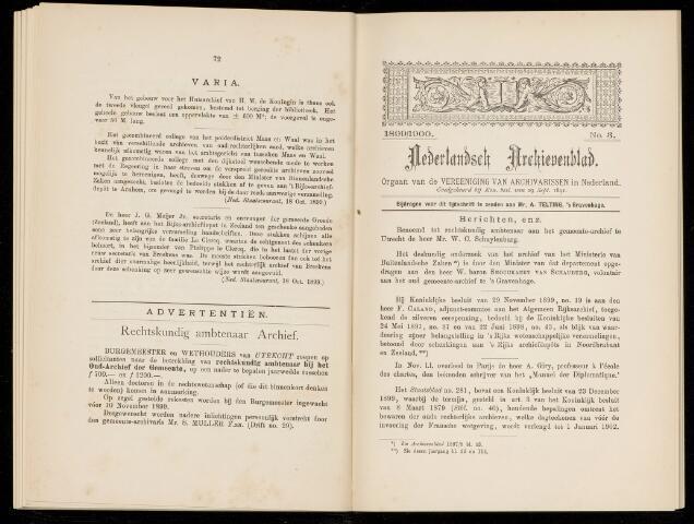 Nederlandsch Archievenblad 1899-09-03