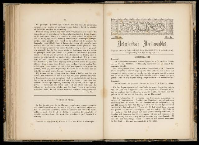 Nederlandsch Archievenblad 1894-09-04