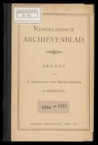 Nederlandsch Archievenblad 1896-05-27