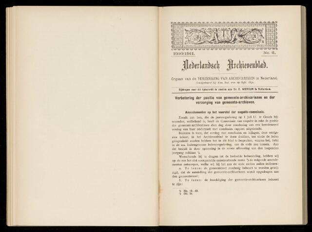 Nederlandsch Archievenblad 1910-09-02