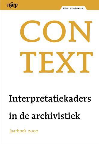Jaarboeken Stichting Archiefpublicaties 2000