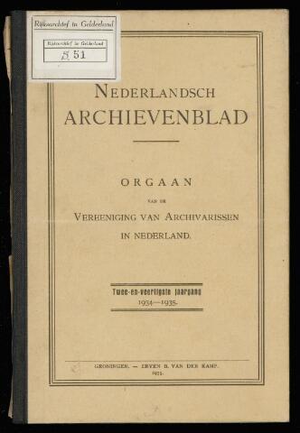 Nederlandsch Archievenblad 1935