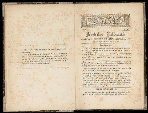 Nederlandsch Archievenblad 1892-04-01