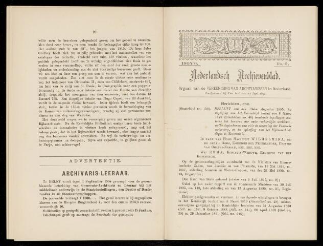 Nederlandsch Archievenblad 1895-09-01