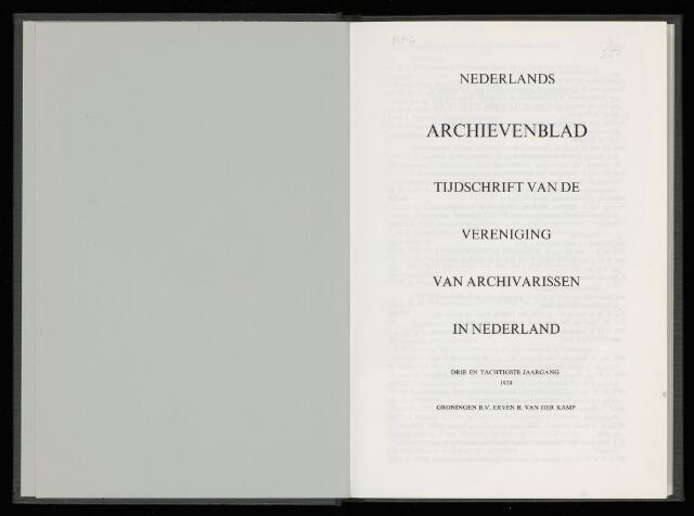 Nederlandsch Archievenblad 1979-04-01