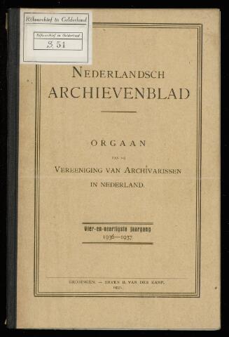Nederlandsch Archievenblad 1937