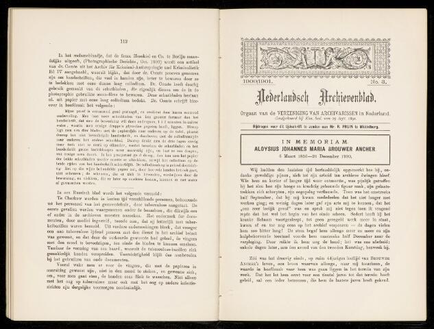 Nederlandsch Archievenblad 1900-11-01