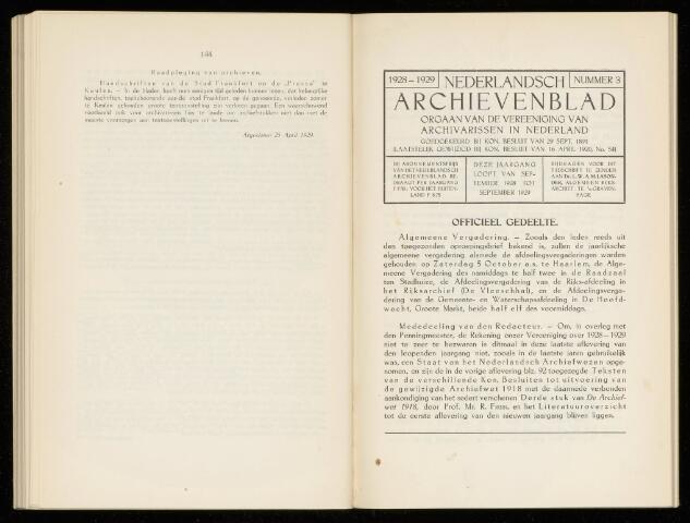 Nederlandsch Archievenblad 1929-10-01
