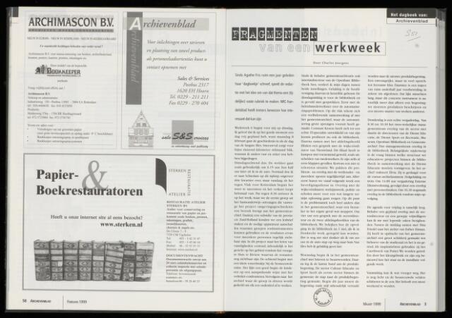 Archievenblad 1999-03-01