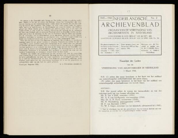 Nederlandsch Archievenblad 1946