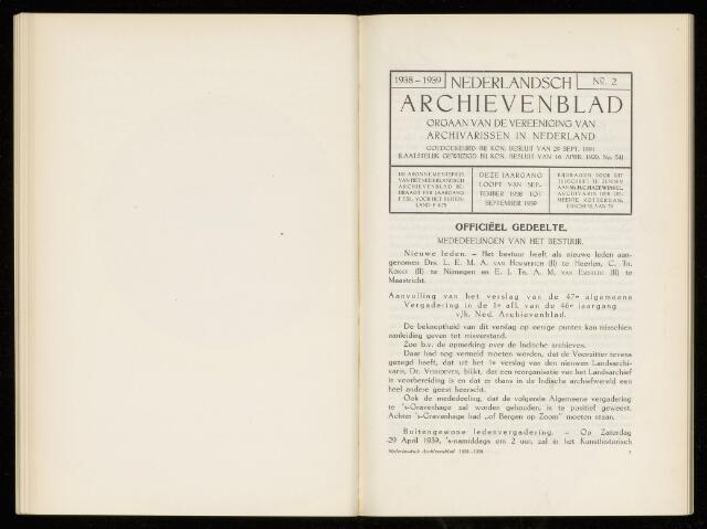 Nederlandsch Archievenblad 1939-05-01