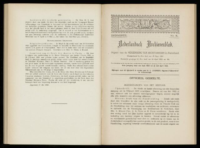 Nederlandsch Archievenblad 1921-12-01