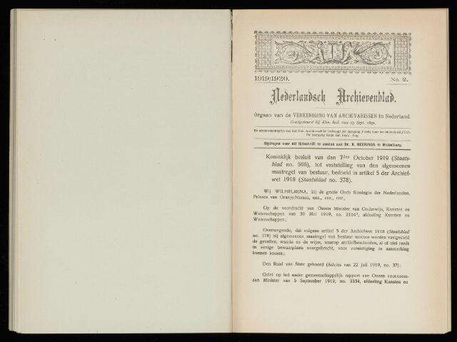 Nederlandsch Archievenblad 1920