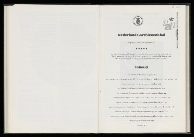 Nederlandsch Archievenblad 1991-09-01