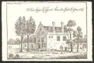 't Oude huijs Lokhorst binnen de stat Leijden 1564