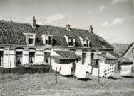 Achterzijde huizenblok aan Abraham van Royenstraat