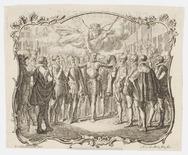 Prins Willerm I in Leiden na het ontzet