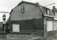 Stormschade aan perceel Jan Kroonsplein 8