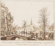 Verwoesting te Leijden, door de Kruid-uitbarsting, op 12 Jan. 1807