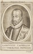 Portret van Ludovicus Cappellus