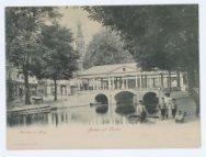 Korenbeurs en brug, Groeten uit Leiden