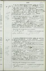 Overlijden, 1931-1940//