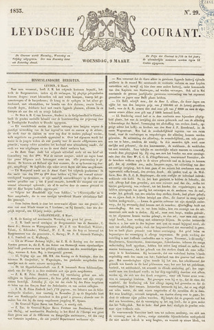 Leydse Courant 1853-03-09