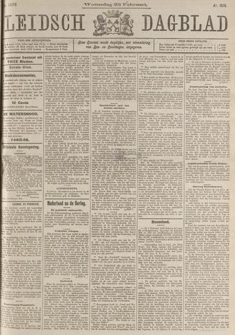 Leidsch Dagblad 1916-02-23