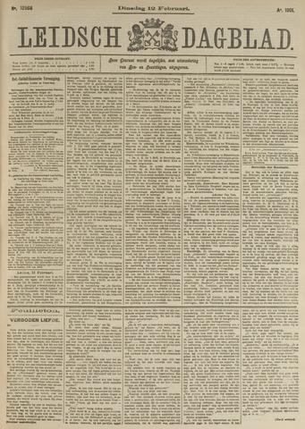 Leidsch Dagblad 1901-02-12