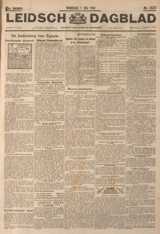 Leidsch Dagblad 1942-07-01
