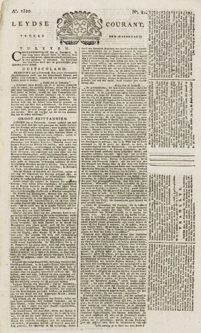 Leydse Courant 1820-02-18