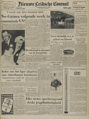 Nieuwe Leidsche Courant 1957-11-09