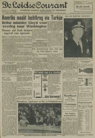 Leidse Courant 1958-07-17