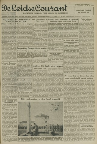 Leidse Courant 1952-10-27