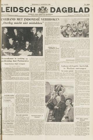 Leidsch Dagblad 1954-08-11