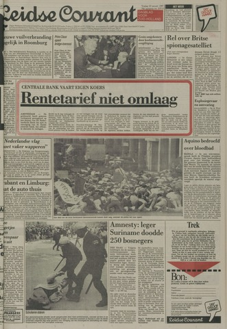 Leidse Courant 1987-01-23