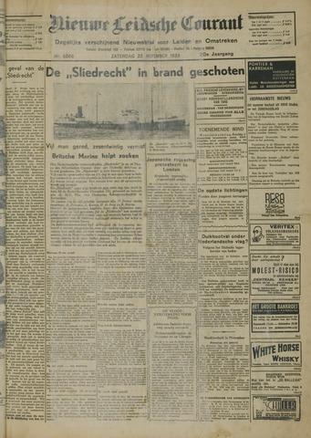 Nieuwe Leidsche Courant 1939-11-25