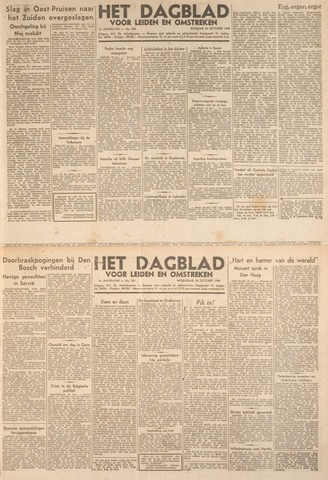 Dagblad voor Leiden en Omstreken 1944-10-24
