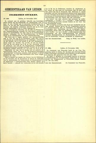 Handelingen van de Raad 1930-11-25