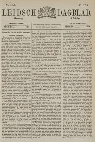 Leidsch Dagblad 1875-10-04
