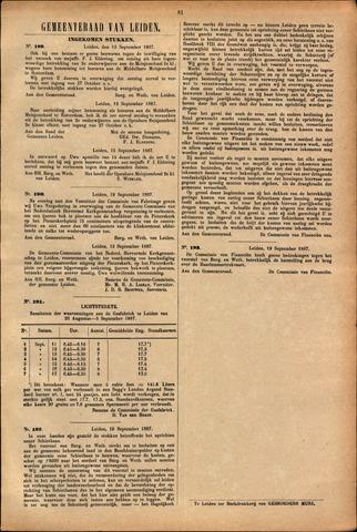Handelingen van de Raad 1887-09-15