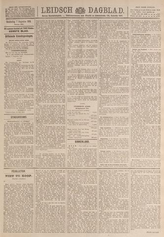Leidsch Dagblad 1919-08-07