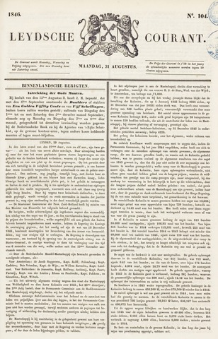 Leydse Courant 1846-08-31
