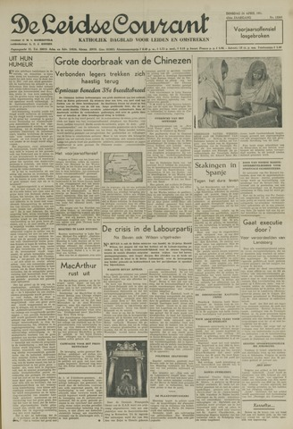 Leidse Courant 1951-04-24