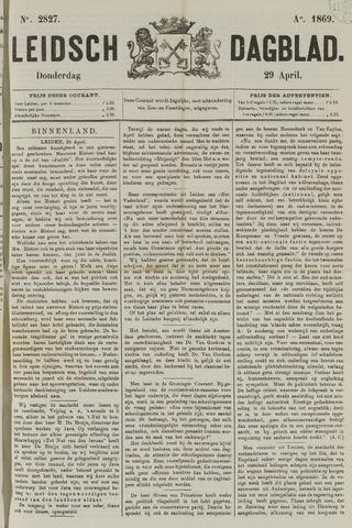 Leidsch Dagblad 1869-04-29