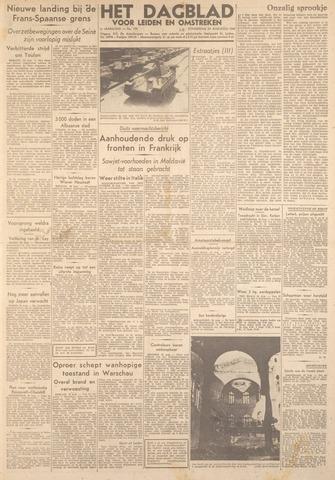 Dagblad voor Leiden en Omstreken 1944-08-24