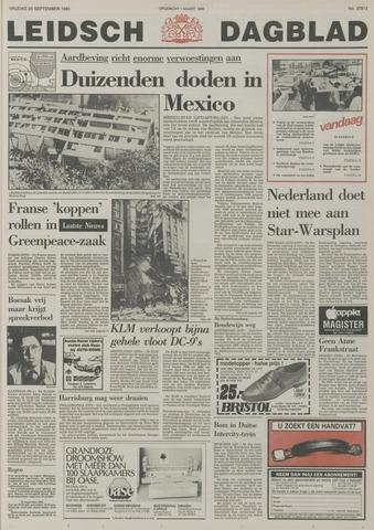 Leidsch Dagblad 1985-09-20