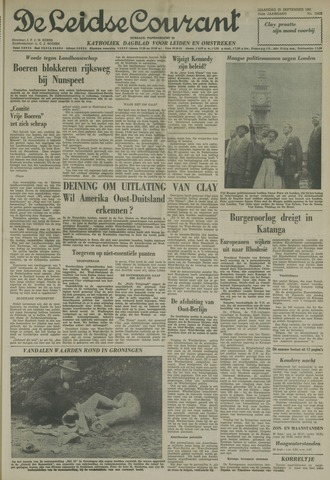 Leidse Courant 1961-09-25