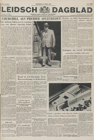 Leidsch Dagblad 1955-04-06